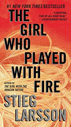 The Girl Who Played with Fire (Millennium Series) Cover