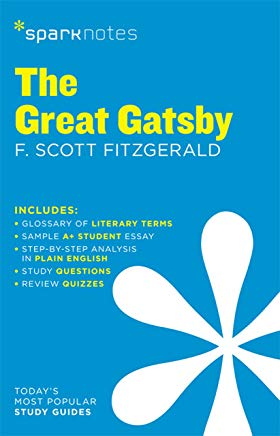 The Great Gatsby SparkNotes Literature Guide (SparkNotes Literature Guide Series) Cover