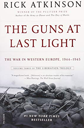 The Guns at Last Light: The War in Western Europe, 1944-1945 (The Liberation Trilogy) Cover