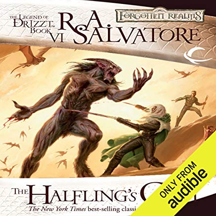 The Halfling's Gem: Legend of Drizzt: Icewind Dale Trilogy, Book 3 Cover