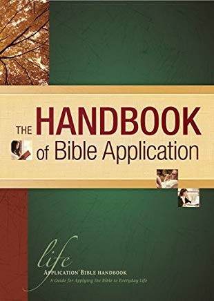 The Handbook of Bible Application (Life Application Reference) Cover