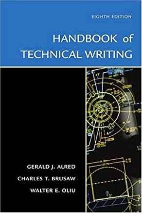 The Handbook of Technical Writing, Eighth Edition Cover