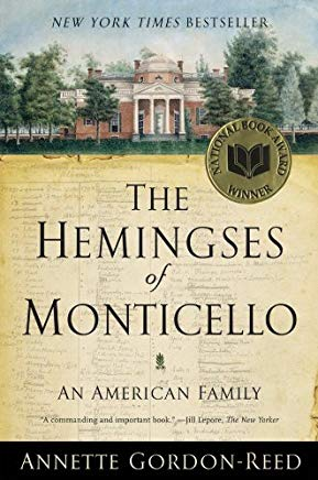The Hemingses of Monticello: An American Family Cover