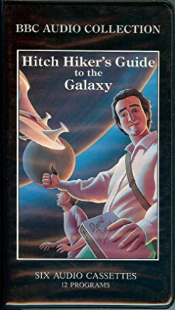 The Hitch-Hiker's Guide to the Galaxy Cover