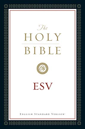 The Holy Bible, English Standard Version (with Cross-References): Old and New Testaments Cover