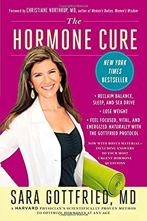 The Hormone Cure: Reclaim Balance, Sleep and Sex Drive; Lose Weight; Feel Focused, Vital, and Energized Naturally with the Gottfried Protocol Cover