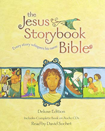 The Jesus Storybook Bible Deluxe Edition: With CDs Cover