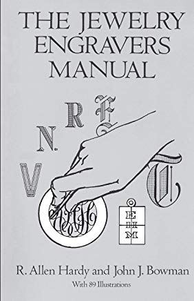 The Jewelry Engravers Manual (Dover Craft Books) Cover