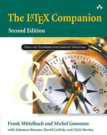The LaTeX Companion (Tools and Techniques for Computer Typesetting) Cover