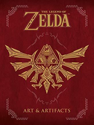 The Legend of Zelda: Art & Artifacts Cover