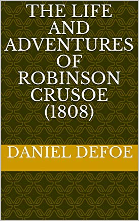 The Life and Adventures of Robinson Crusoe (1808) Cover