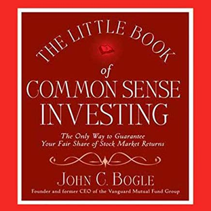The Little Book of Common Sense Investing Cover