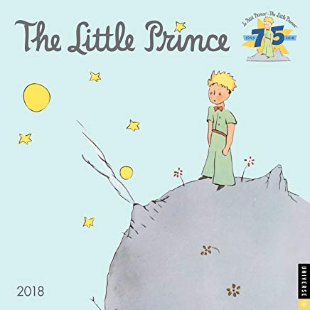 The Little Prince 2018 Wall Calendar Cover
