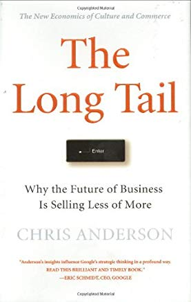 The Long Tail: Why the Future of Business is Selling Less of More Cover