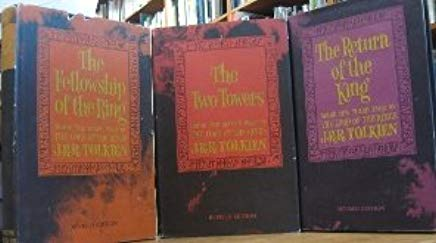 THE LORD OF THE RINGS - IN THREE VOLUME - PART 1: THE FELLOWSHIP OF THE RING - PART 2: THE TWO TOWERS - PART 3: THE RETURN OF THE KING Cover