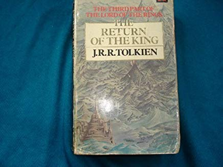 The Lord of the Rings Part Three: The Return of the King Cover