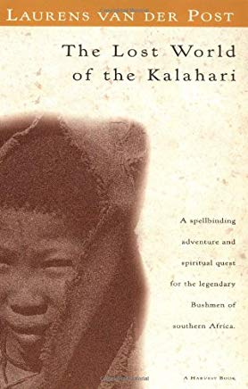 The Lost World of the Kalahari Cover