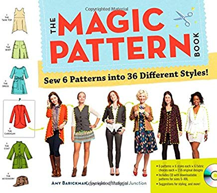 The Magic Pattern Book: Sew 6 Patterns into 36 Different Styles! Cover