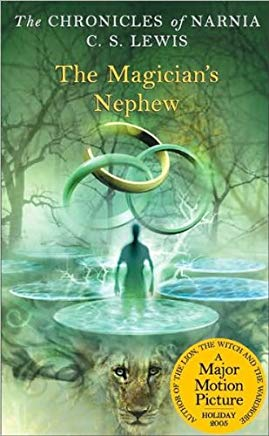 The Magician's Nephew (The Chronicles of Narnia) (text only) by C. S. Lewis,P. Baynes Cover
