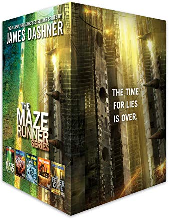 The Maze Runner Series Complete Collection Boxed Set (5-Book) Cover