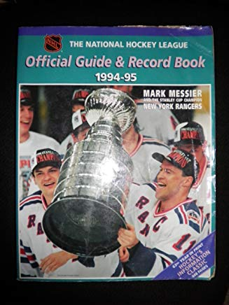 The National Hockey League Official Guide & Record Book 1994-95 (NATIONAL HOCKEY LEAGUE OFFICIAL GUIDE AND RECORD BOOK) Cover