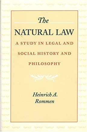 The Natural Law: A Study in Legal and Social History and Philosophy Cover