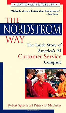 The Nordstrom Way: The Inside Story of America's #1 Customer Service Company Cover