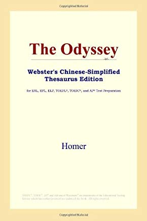 The Odyssey (Webster's Chinese-Simplified Thesaurus Edition) (Chinese Edition) Cover