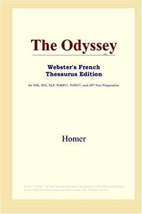 The Odyssey (Webster's French Thesaurus Edition) (French Edition) Cover