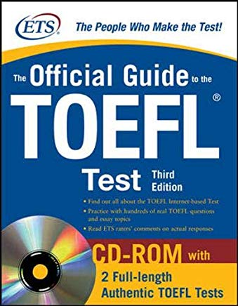 The Official Guide to the TOEFL iBT with CD-ROM, Third Edition Cover