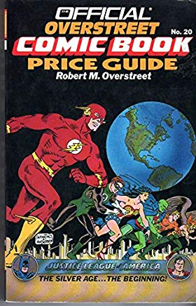 The Official Overstreet Comic Book Price Guide 1990-1991 Cover