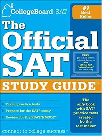 The Official SAT Study Guide: For the New SAT (tm) Cover