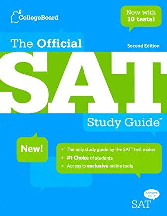 The Official SAT Study Guide (Turtleback School & Library Binding Edition) Cover