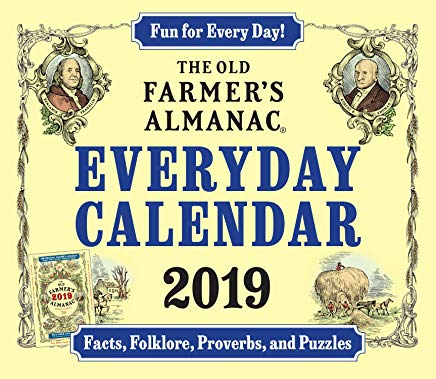 The Old Farmer's Almanac 2019 Everyday Calendar Cover