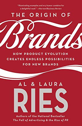 The Origin of Brands: How Product Evolution Creates Endless Possibilities for New Brands Cover