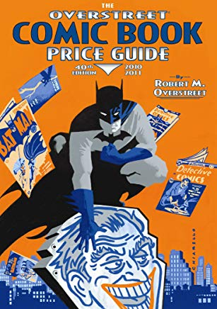 The Overstreet Comic Book Price Guide, 40th Edition Cover