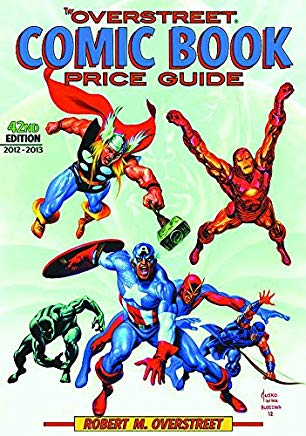 The Overstreet Comic Book Price Guide, 42nd Edition Cover