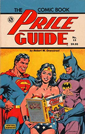The Overstreet Comic Book Price Guide No. 13 Cover