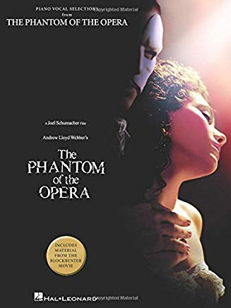 The Phantom of the Opera - piano vocal Selections Cover
