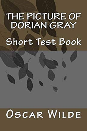 The Picture of Dorian Gray, short test book Cover