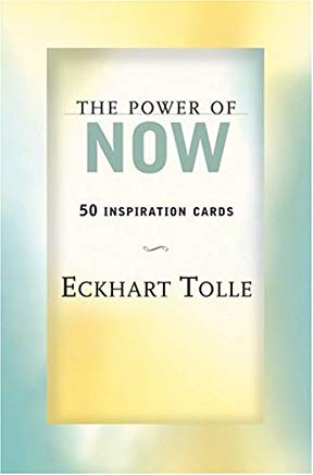 The Power of Now: 50 Inspiration Cards Cover