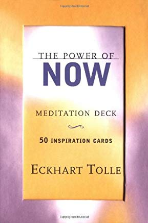 The Power of Now Meditation Deck: 50 Inspiration Cards Cover