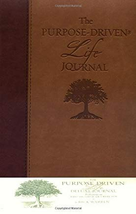 The Purpose-Driven Life Deluxe Journal by Warren, Rick Deluxe Edition [LeatherBound(2003/4/25)] Cover