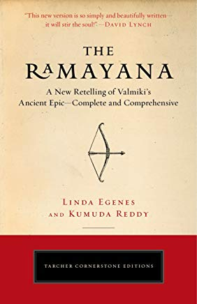 The Ramayana: A New Retelling of Valmiki's Ancient Epic--Complete and Comprehensive (Tarcher Cornerstone Editions) Cover