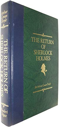 The Return of Sherlock Holmes (Reader's Digest) Cover