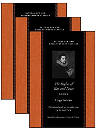 The Rights Of War And Peace: Three Volume Set (Natural Law and Enlightenment Classics) (Bks. 1-3) Cover