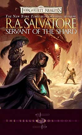The Servant of the Shard: The Sellswords, Book I Cover