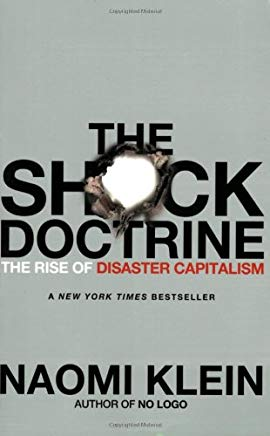 The Shock Doctrine: The Rise of Disaster Capitalism Cover