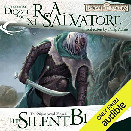 The Silent Blade: Legend of Drizzt: Paths of Darkness, Book 1 Cover