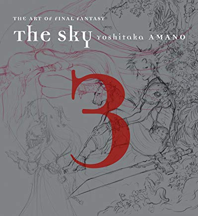 The Sky: The Art of Final Fantasy Book 3 Cover